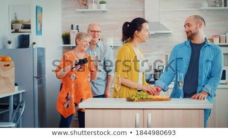 comprometido · trancar · ilustração · banheiro · porta · posição - foto stock © photography33