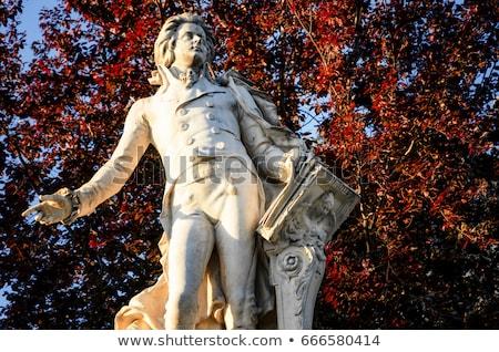 Mozart Statue, Vienna - Austria Stock photo © fazon1