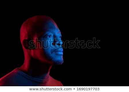 Artistik erkek portre adam 30s yüz Stok fotoğraf © stevanovicigor
