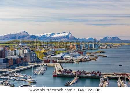 town bodo in norway stock photo © harlekino