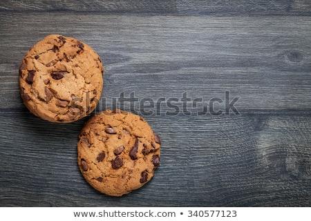 boglya · tej · étcsokoládé · chip · sütik · étel - stock fotó © marimorena