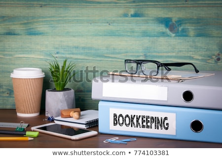 bookkeeper Stock photo © Grazvydas