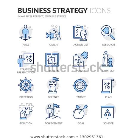 Dirección estrategia decisiones búsqueda camino Foto stock © Lightsource