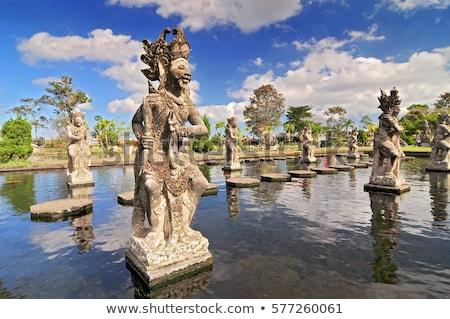 Escultura piedra deidad templo Foto stock © jrstock