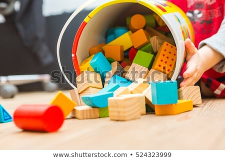 child with toy blocks stock photo © Paha_L