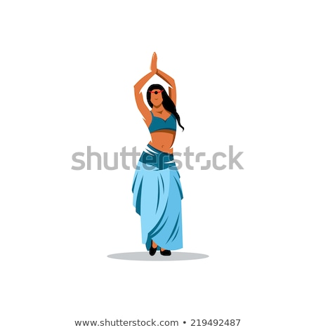 Indian belly dancers Stock photo © Refugeek