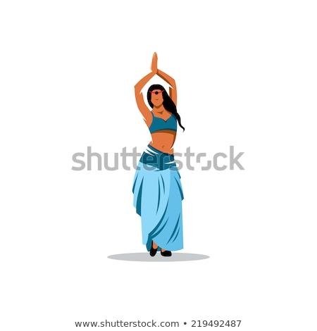 индийской · живота · танцоры · слово · облако · музыку · слон - Сток-фото © Refugeek