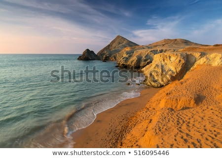 Beach in La Guajira, Colombia stock photo © jkraft5