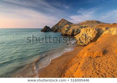 Plaży la Kolumbia morza pustyni Zdjęcia stock © jkraft5