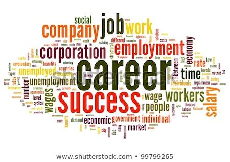 Employment. Wordcloud Concept. Stock photo © tashatuvango