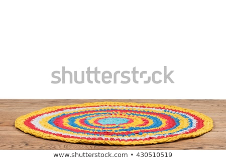 Background colorful rug Stock photo © Hofmeester