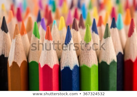 gekleurd · potloden · business · blad · potlood - stockfoto © sfinks
