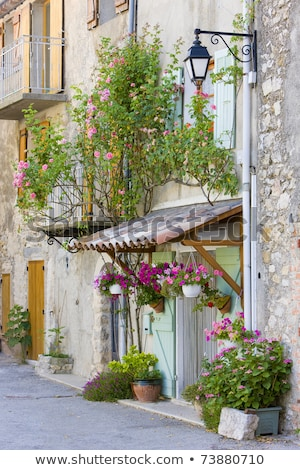 Rougon, Provence, France Stock photo © phbcz