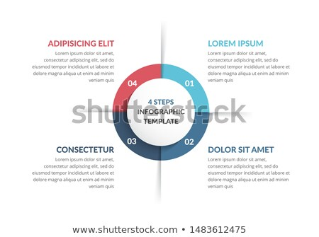 Modern vector info graphic for business project stock photo © theseamuss