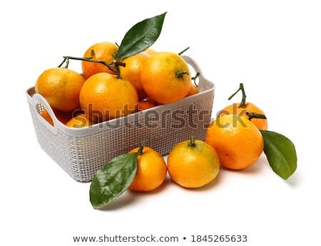 Mandarine and orange juice Stock photo © Karaidel