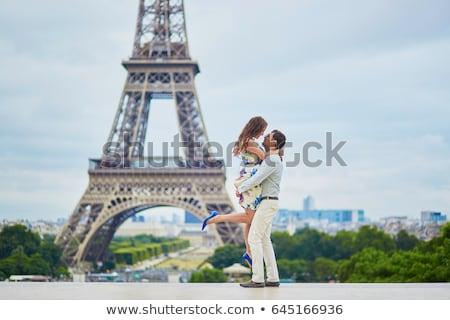 honeymoon in Paris Stock photo © adrenalina