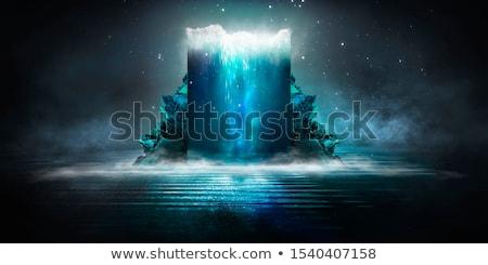 抽象的な スペース ファンタジー 空 光 星 ストックフォト © alinbrotea