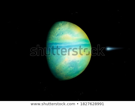 3d Earth like planet Stock photo © maxmitzu