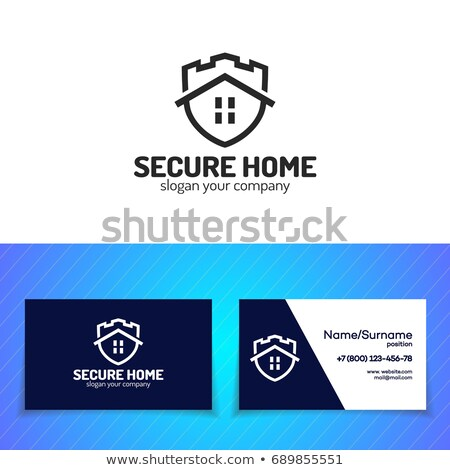 home security logos set stock photo © anna_leni