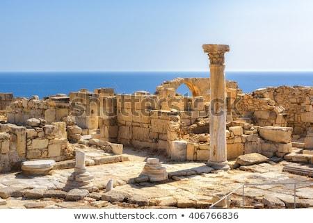 roman arch at kourion ruins limassol district limassol stock photo © kirill_m
