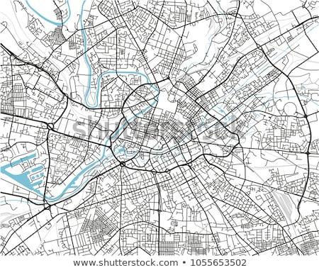 street map of mamchester stock photo © chris2766