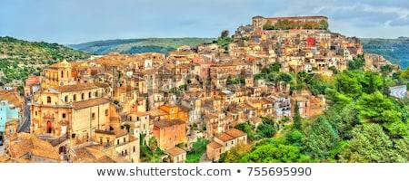 Cityscape Сицилия Италия лет архитектура культура Сток-фото © Photooiasson