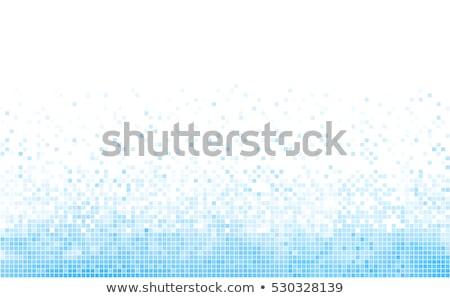 digital water pixels background Stock photo © georgejmclittle