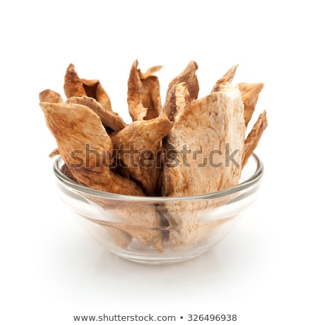 Front view of bowl of Organic Sour dried mango. Stock photo © ziprashantzi
