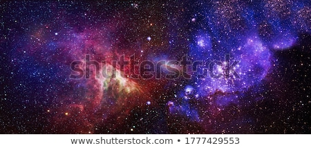 Spiral galaxy in outer space. Stock photo © iofoto