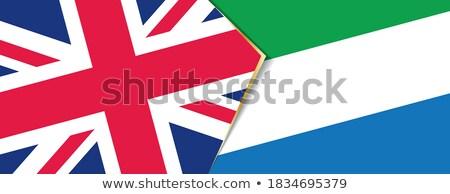 united kingdom and sierra leone flags stock photo © istanbul2009