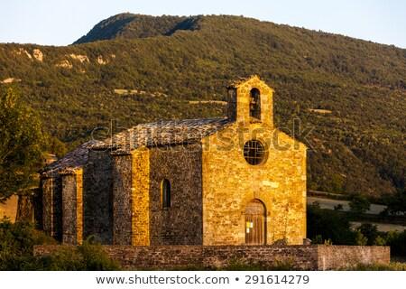 Küçük kilise Fransa Bina mimari Avrupa tarih Stok fotoğraf © phbcz