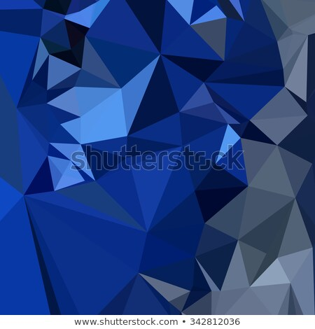 Catalina Blue Abstract Low Polygon Background Stock photo © patrimonio
