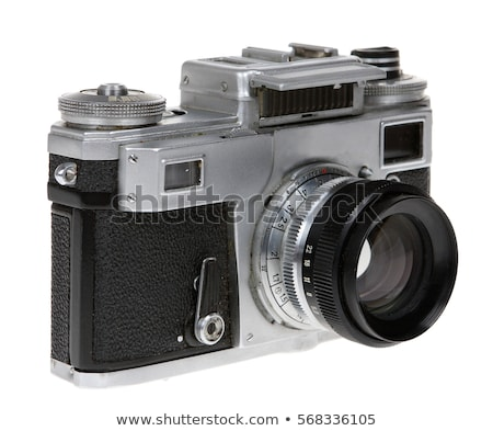 old camera and slides stock photo © Paha_L