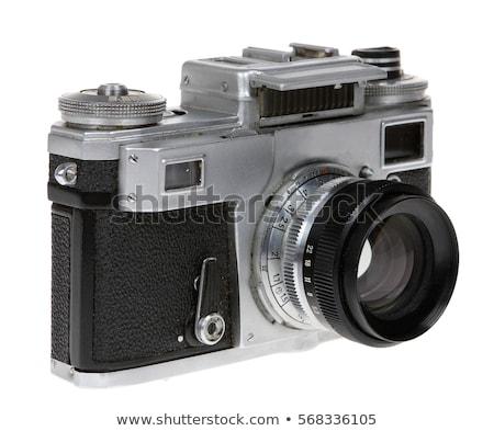 old camera and slides Stock photo © Paha_L
