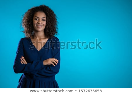 Intenzív néz igazi nő afrikai szexi Stock fotó © Giulio_Fornasar