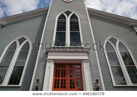 Photo stock: Première · Paris · église · sandwich · ville · cape · cod