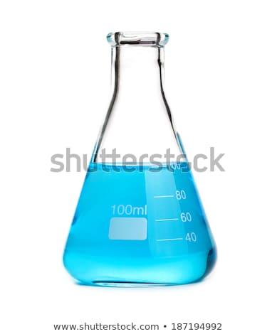 Stock fotó: Izolált · illusztráció · kémia · főzőpohár · megoldás · üveg