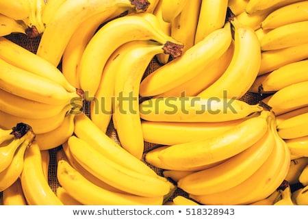 Plátano primer plano rebanadas frescos jugoso campo Foto stock © lienkie