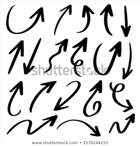 Doodles design for arrows Stock photo © bluering