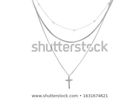 алмазов · металл · цвета · кольца · Diamond · белый - Сток-фото © gsermek
