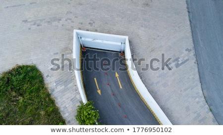 Subterráneo coche garaje entrada concretas Foto stock © stevanovicigor