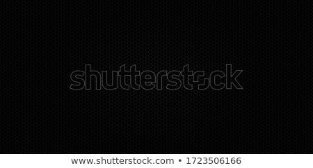 Mértani végtelenített rrácsozat absztrakt feketefehér textúra Stock fotó © kup1984