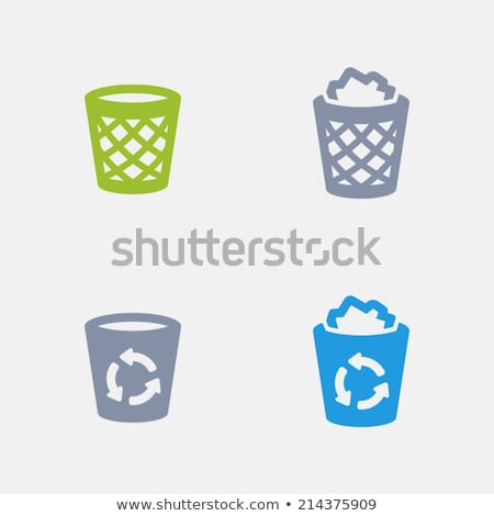 recycler · granit · professionnels · icônes · pixel - photo stock © micromaniac