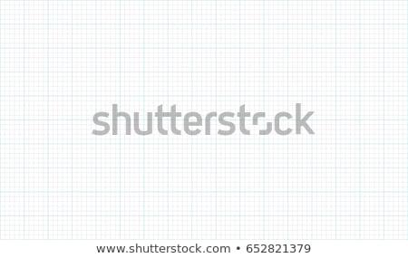 Mérnöki grafikon papír illusztráció kék háttér Stock fotó © kitch