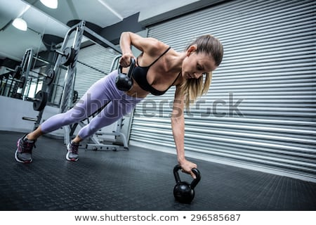 Stockfoto: Atleet · roeien · gymnasium · vrouw · man