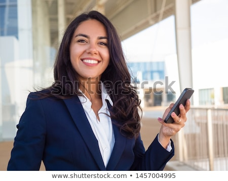 A female business suit facing the camera Stock photo © IS2