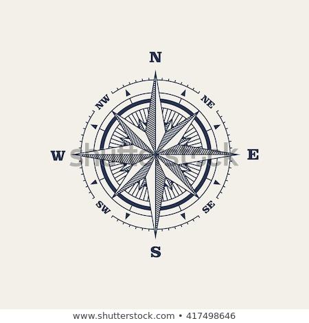 Wind Rose Compass Stock photo © Genestro