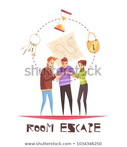 magical escape vector Stock photo © psychoshadow