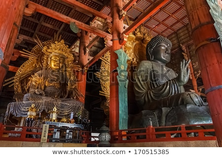 Buddha tempel Japan groot hout reizen Stockfoto © daboost