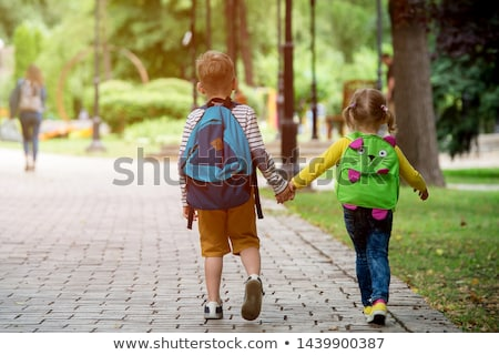 портрет · детский · сад · мальчика · рюкзак · студент · образование - Сток-фото © monkey_business